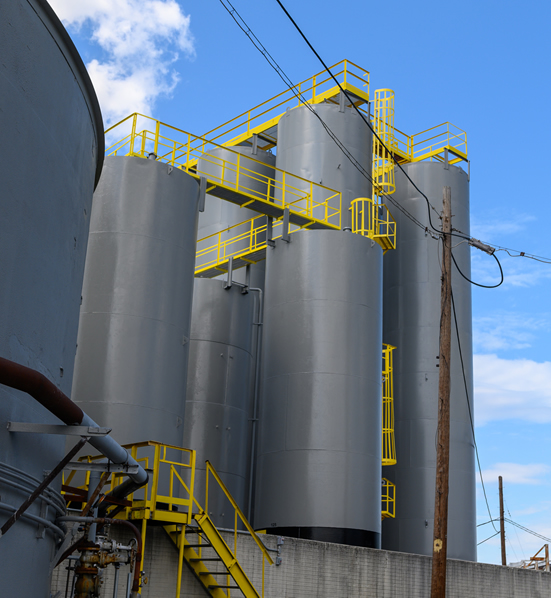 oil recycling facility
